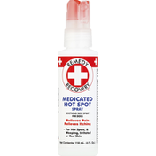 Remedy Recovery Medicated Hot Spot Spray, Soothing Skin Spray For Dogs