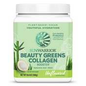 Sunwarrior Beauty Greens with Collagen Booster Unflavored
