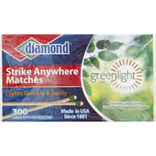 Diamond Matches, Strike Anywhere, Large Kitchen