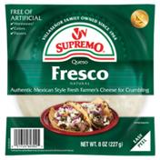 V&V Supremo Queso Fresco Cheese Chunk, Mexican-Style, Fresh Farmer's