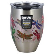 Tervis Cup, Stainless, Dragonfly Mandala, 12 Ounce