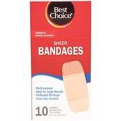 Best Choice X-Large Sheer Bandages