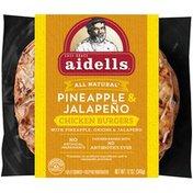 Aidells Pineapple & Jalapeno Chicken Burger