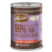 Merrick Grain Free 96% Real Pork Canned Dog Food