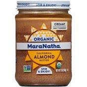 Maranatha Creamy Organic California Almond Butter