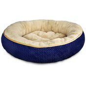 """Petco Textured Round Cat Bed In Pearl 20"""" Diameter"""