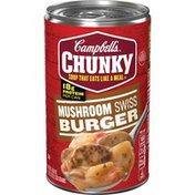 Campbell's® Chunky® Mushroom Swiss Burger Soup