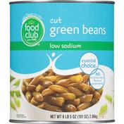 Food Club Low Sodium Cut Green Beans