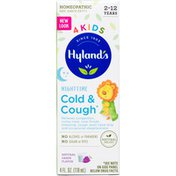 Hyland's 4Kids Cold & Cough Nighttime Syrup, Grape