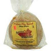 Basson Bakery Whole Wheat Pocket Pita Bread