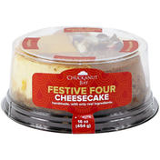 Chuckanut Bay Foods Festive Four Cheesecake