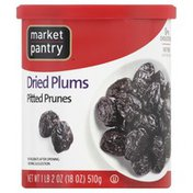 Market Pantry Plums, Dried, Pitted Prunes