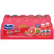 Ocean Spray Ruby Red 10 Oz Juice Drink