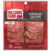 Hillshire Farm Lunchmeat, Peppered Salami, 6 oz.