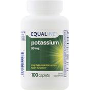 Equaline Potassium, 99 mg, Caplets