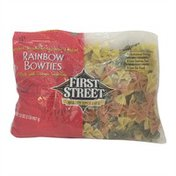 First Street Rainbow Bowties Enriched Vegetable Macaroni Product