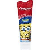 Colgate Toothpaste, Anticavity Fluoride, Nickelodeon SpongeBob Squarepants, Mild Bubble Fruit