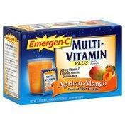 Emergen-C Flavored Fizzy Drink Mix, Apricot-Mango
