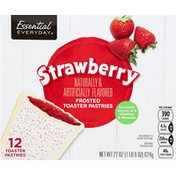 Essential Everyday Toaster Pastries, Strawberry, Frosted