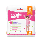 Meijer Training Pants Girl 2T/3T