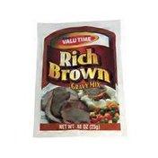 Valu Time Rich Brown Gravy Mix