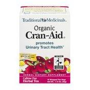 Traditional Medicinals Herbal Tea Organic Cran-Aid Tea Bags - 16 CT