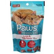 Paws Happy Life Premium Cat Treats, Tuna & Egg