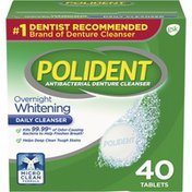 Polident Denture Cleanser