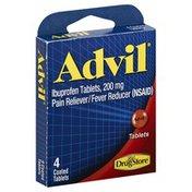 Lil Drug Store Ibuprofen, Advil, 200 mg, Coated Tablets