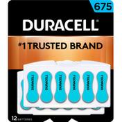 Duracell Battery, Alkaline, 675