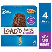 Blue Bunny Load'd Bars Super Fudge Brownie