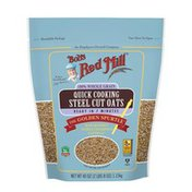 Bob's Red Mill 100% Whole Grain Quick Cooking Steel Cut Oats