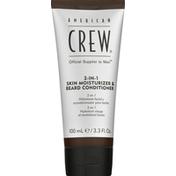 American Crew Skin Moisturizer & Beard Conditioner, 2-in-1