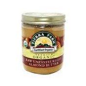 Tierra Farm Organic Raw Unsalted Almond Butter