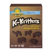 Kinnikinnick Foods Foods KinniKritters Chocolate Animal Cookies