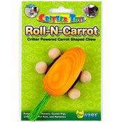 Critter Ware Roll-N-Carrot Critter Powered Carrot-Shaped Chew