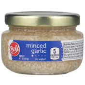 Big Y Minced Garlic In Water