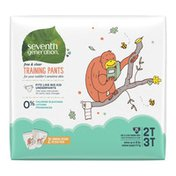 Seventh Generation Potty Training Pants Size 2t/3t (m), Up To 35 Lbs