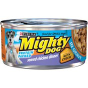 Purina Seared Chicken Dinner With Cheese in Gravy Adult Wet Dog Food
