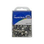 Allary Thumbtacks Silver/Gold 300ct