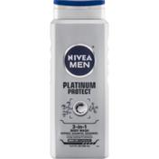 Nivea Men 3-In-1 Body Wash Platinum Protect