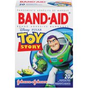Band-Aid Toy Story Premium Adhesive Bandages - 20 CT
