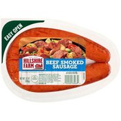 Hillshire Farm Beef Smoked Sausage Rope, 12 oz.