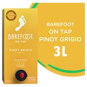 Barefoot On Tap Pinot Grigio White Wine Box Wine