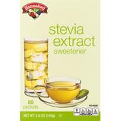 Hannaford Stevia Extract Sweetener