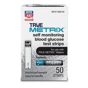 Rite Aid TrueMETRIX Test Strips, 50ct