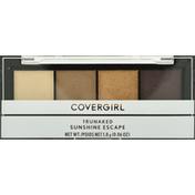 CoverGirl Eyeshadow, Quad Palette, Sunshine Escape 750