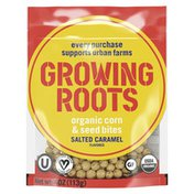 Growing Roots Snacks Bites Salted Caramel