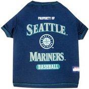 Doggie Nation Extra Large MLB Seattle Mariners Dog Tee Shirt