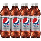 Pepsi Diet  Wild Cherry Soda (8-16.9 Fluid )  Fluid  8  Plastic Bottles